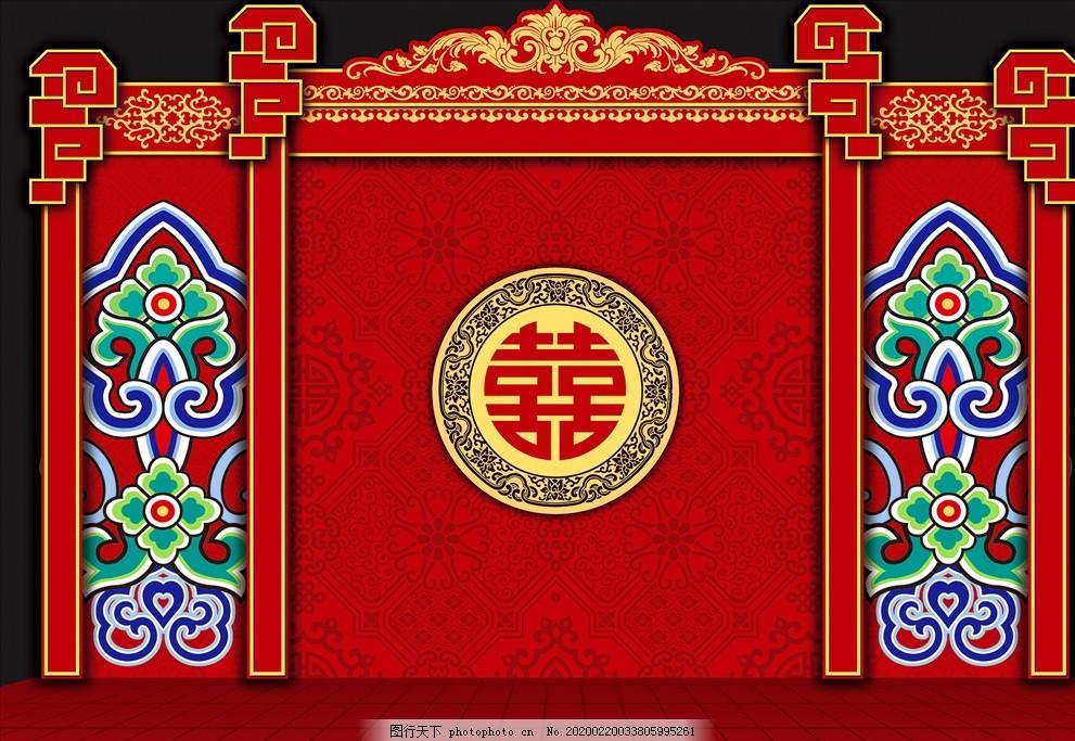 紅色婚禮中式展區